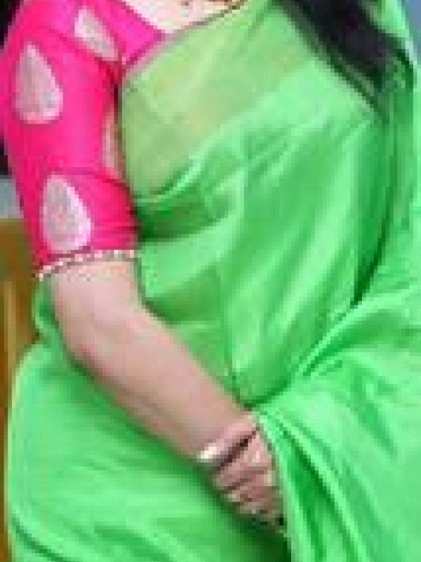 Excellent Green And Pink Color Soft Silk Saree SC-1265