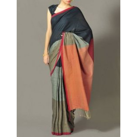 Amazing Multi Color Soft Silk Saree VMRSC-3057