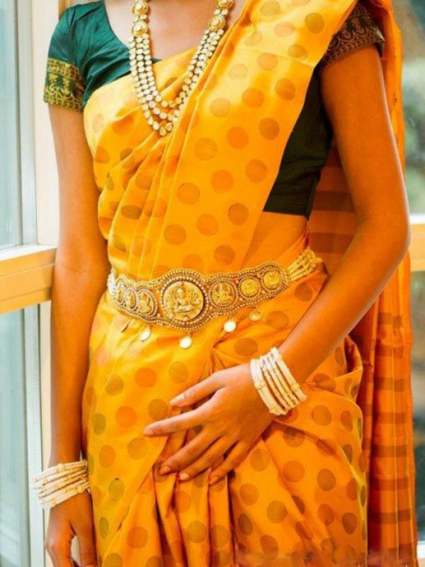 Exceptional Yellow Color Soft Silk Saree VMRSC-7045